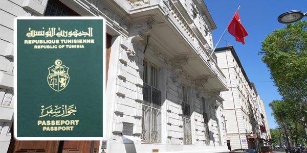 450 passeports vierges volés lors du cambriolage du consulat de Tunisie à Lyon