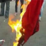 قابس: 5سنوات سجنا لشاب حرق العلم التونسي