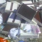Photo de poubelles de la marque Mme Hachicha, l'enseigne répond