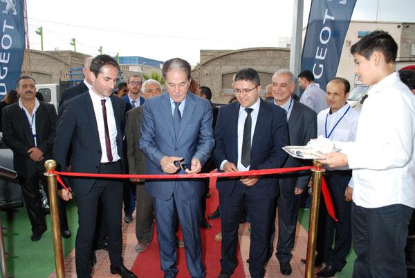Ouverture D'une Nouvelle Agence Peugeot A Ksar Hellal