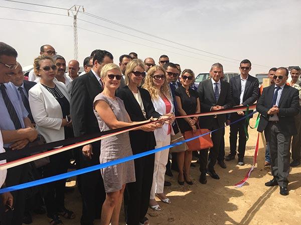 Première centrale photovoltaïque à Tozeur en collaboration avec l'Allemagne