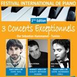 UNISSON organise la 2ème édition du Festival international de piano