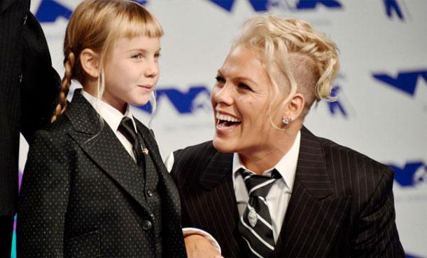 En vidéo : Le discours émouvant de Pink pour sa fille lors des MTV Video Music Awards