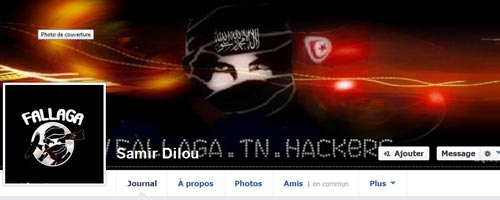 Piratage de la page Facebook de Samir Dilou