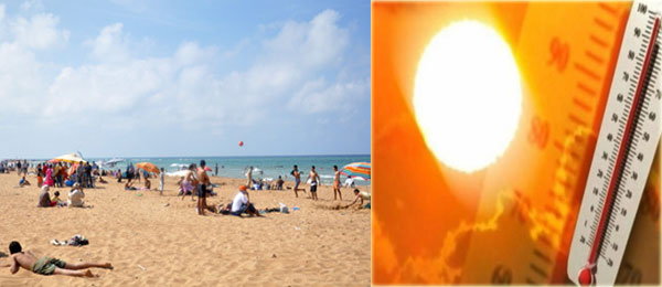 توقعات الطقس لآخر الأسبوع: الحرارة في ارتفاع والبحر قليل الاضطراب