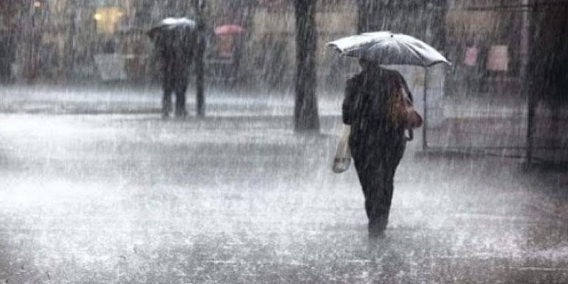 أمطار غزيرة في القصرين