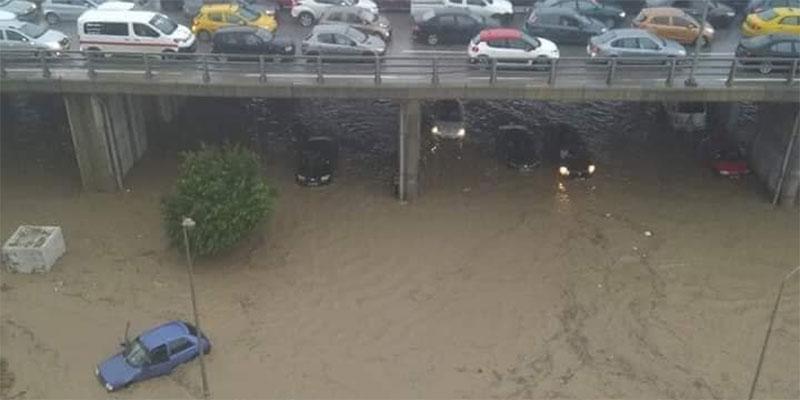 أقصاها بأريانة، كميات الأمطار المسجلة يوم أمس