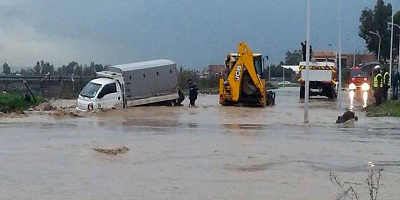 Distribution des aides au profit des habitants dans les zones sinistrées