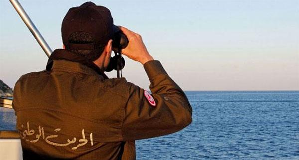 حلق الوادي: إحباط عملية إجتياز الحدود البحرية خلسة