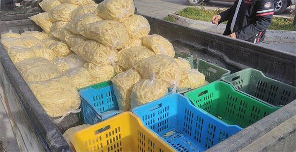 بنزرت: حجز 4 اطنان من البطاطا الغير صالحة للاستهلاك
