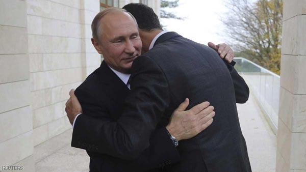 روسيا تعلن سبب الزيارة الخاطفة للأسد