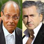 عماد الدايمى :المرزوقى ليس له أى علاقة بزيارة برنار هنرى ليفي إلى تونس