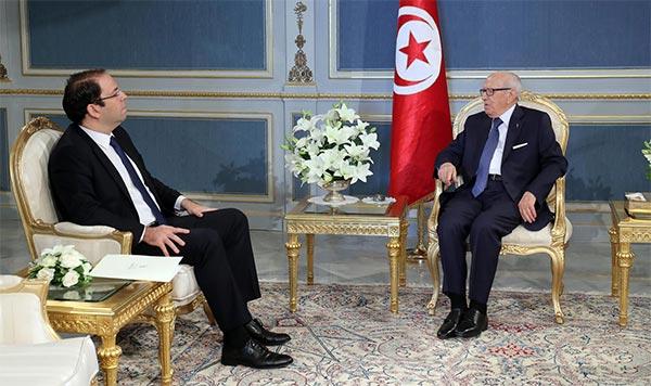 الشاهد يعرض تركيبة الحكومة المقترحة على رئيس الجمهورية