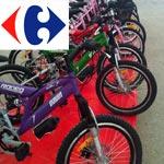 Opération vélo à Carrefour : Promotion des deux roues