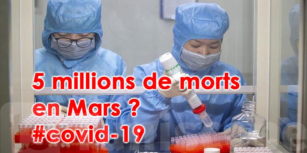 Vers cinq millions de morts du Covid-19 en mars?
