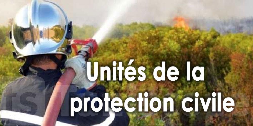 115 interventions pour éteindre les incendies