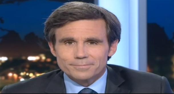 'قناة 'فرنسا 2 'تبعد مقدم الأخبار 'ديفيد بوجاداس