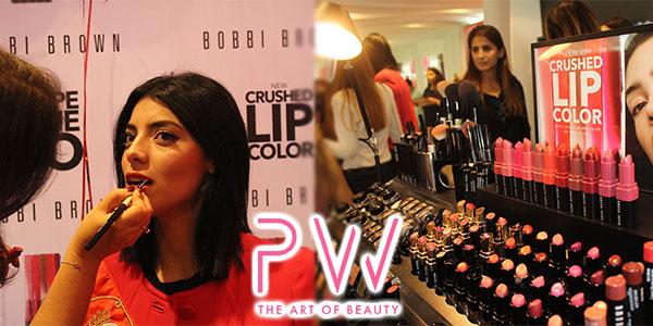 En vidéo : Découvrez les nouveautés maquillage de la marque Bobbi Brown chez PW