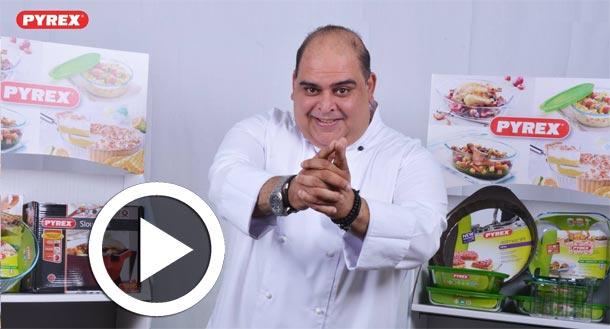 En vidéos : Tous les détails sur le partenariat entre la marque Pyrex et le chef Teyssir Ksouri