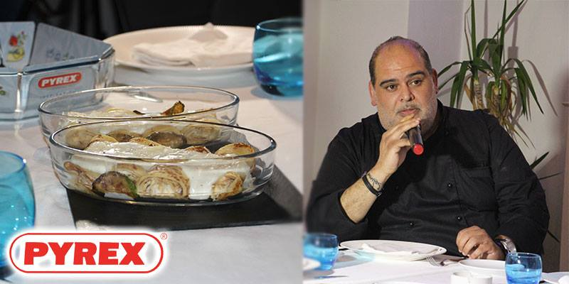 En vidéos : Pyrex renouvelle son partenariat avec le Chef Teyssir Ksouri et présente ses nouveautés