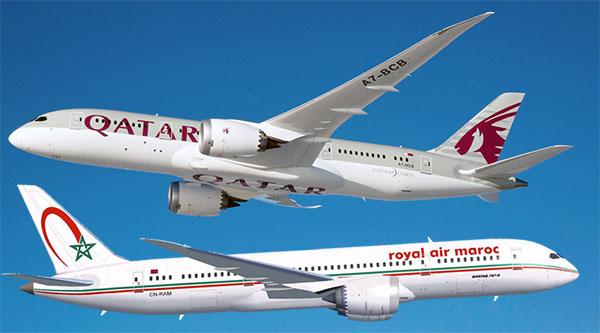Qatar Airways envisage d'intégrer le capital de la Royal Air Maroc