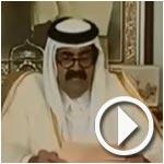 En vidéo : L'émir du Qatar abdique au profit de son fils