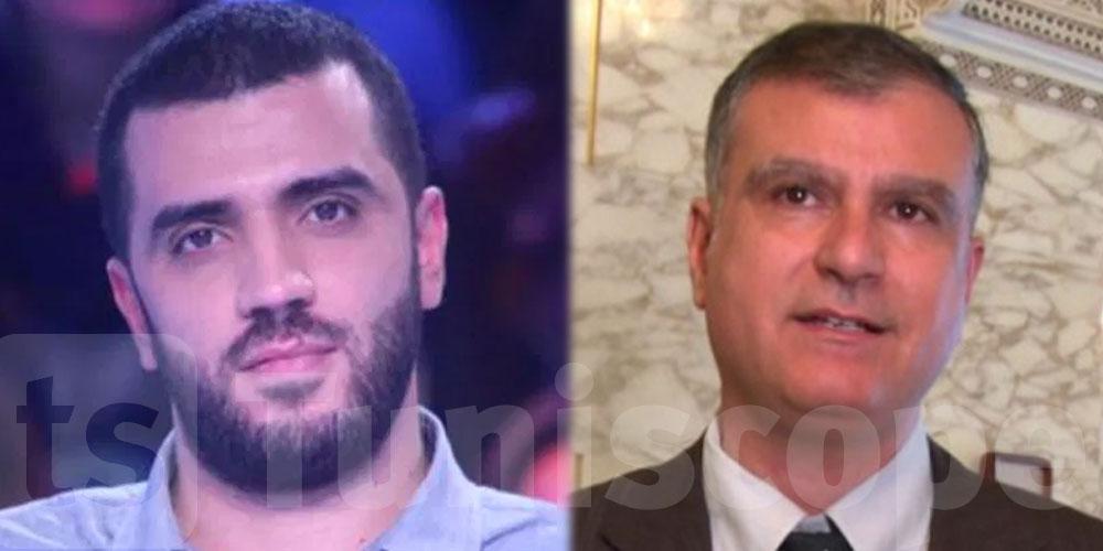 Rached Khiari risque d'être arrêté, selon Amine Mahfoudh