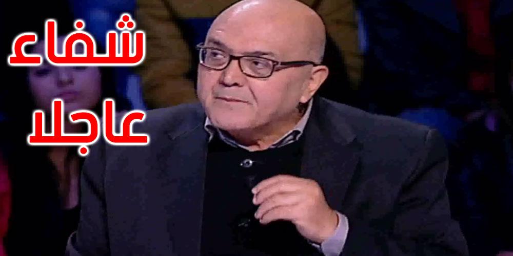وزير الثقافة بالنيابة يعود المسرحي محمد رجاء فرحات