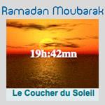 Pour Ramadan, la rupture du jeûne débutera à 19:42 minutes
