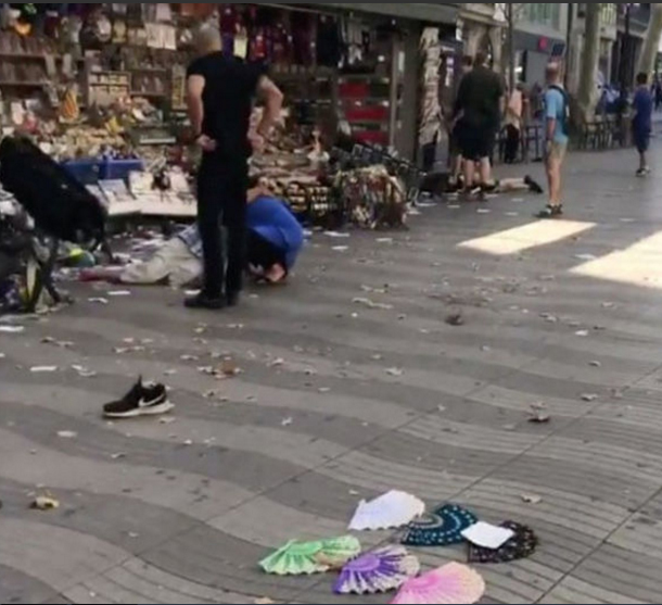 تنظيم داعش الإرهابي يتبنى حادث الدهس في برشلونة