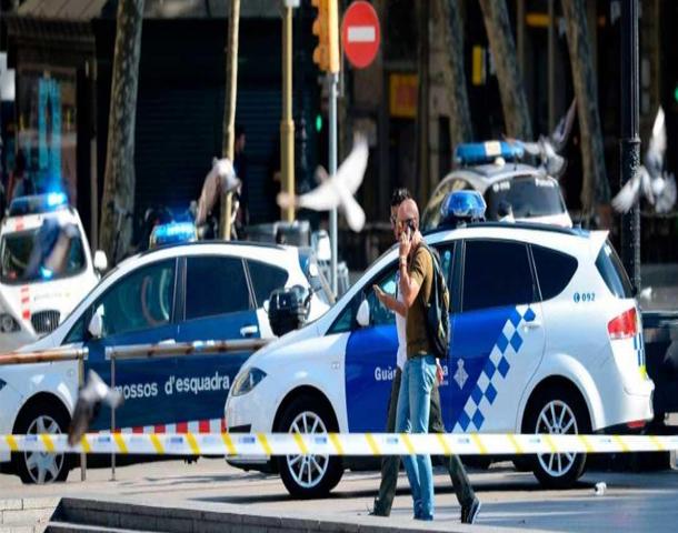 القبض على مشتبه به ثان في عملية الدهش ببرشلونة