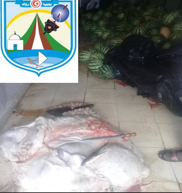 بلدية رواد تدعو المواطنين إلى شراء اللحوم المراقبة بيطريا وتحجز 160 كغ غير صالحة للاستهلاك