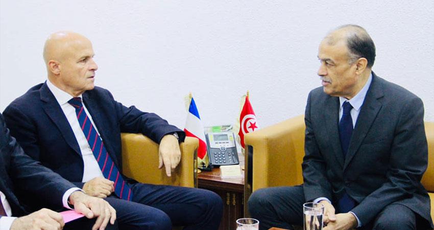 وزير الصحة يستقبل السفير الفرنسي بتونس
