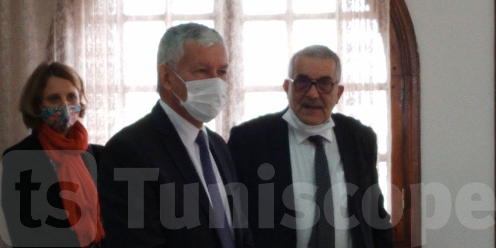 En photos : l'ambassadeur français en visite à Ras Jebel