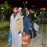 وصول 182 مصريا بليبيا إلى معبر راس جدير لترحيلهم إلى مصر