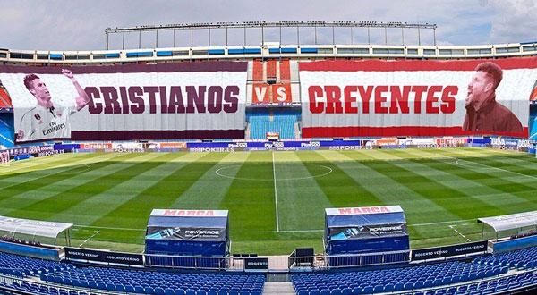 التشكيلة الرسمية للقاء ريال مدريد وأتلتيكو