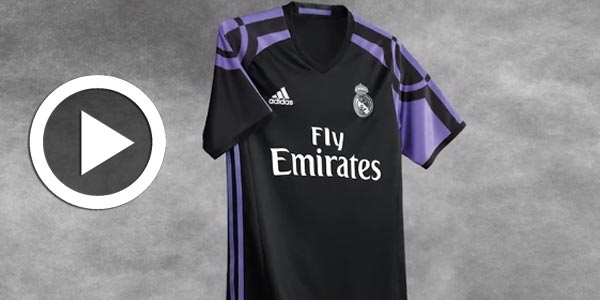 En vidéo : Découvrez  le troisième maillot du Real Madrid