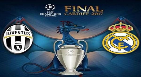 نهائي مثير لدوري أبطال أوروبا :تشكيلتا جوفنتوس وريال مدريد