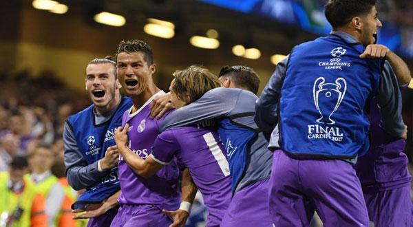 ريال مدريد بطل أوربا للسنة الثانية على التوالي