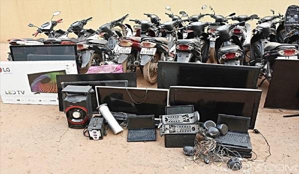 Arrestation d'une bande de voleurs en série pour plusieurs cambriolages
