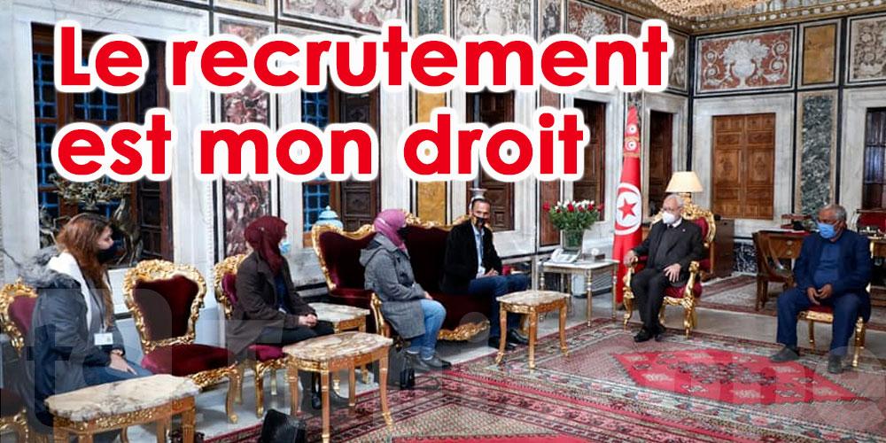 Ghanouchi aux Jeunes chômeurs : Je vous comprends