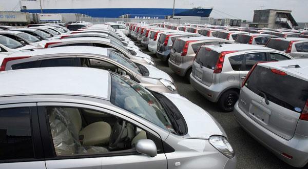 Réduction de 20% de l'importation des voitures en 2018