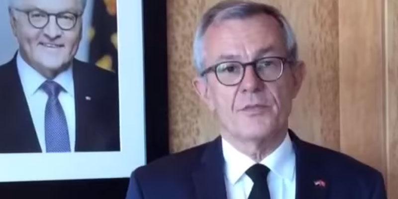 En vidéo : L'ambassadeur d'Allemagne en Tunisie présente ses condoléances