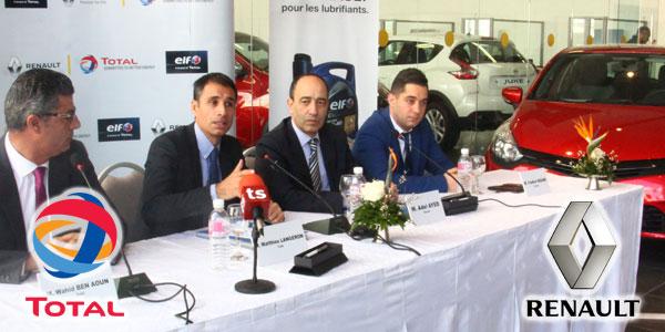 En vidéos : Total et Renault prolongent leur partenariat pour cinq ans