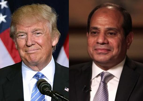 Le président égyptien rencontre Trump pour tourner la page Obama