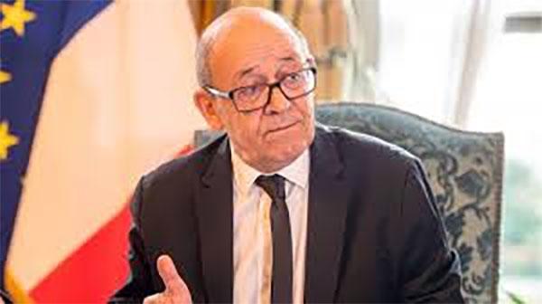Report de la visite du ministre français des Affaires étrangères