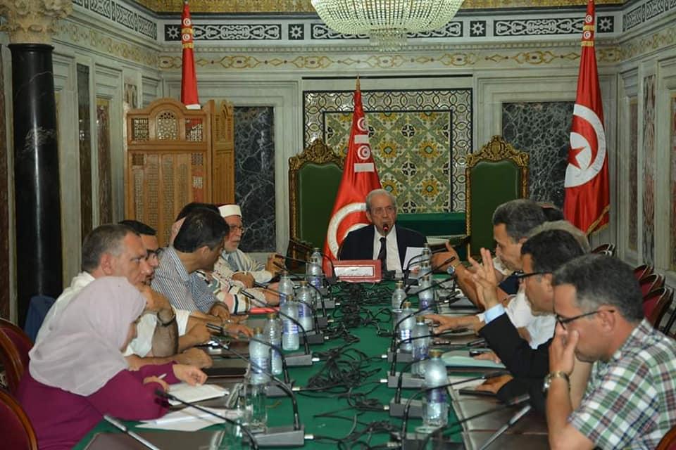 بالصور،  اجتماع مشترك بين مكتب مجلس النواب ورؤساء الكتل