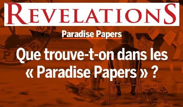 Scandale Paradise Papers ou le point sur les révélations