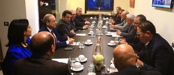 Slim Riahi au centre de négociations autour de la création d'une e coalition démocratique