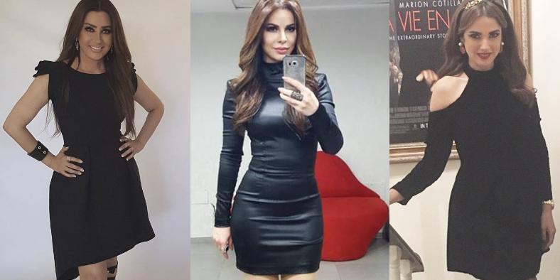 Robes noires : 5 looks de célébrités tunisiennes à copier sans tarder….